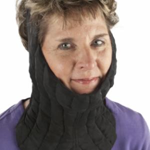 Sigvaris neck-mandible compression garment